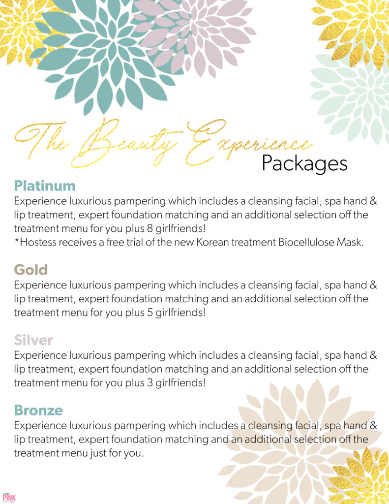 Beauty Experience Packages