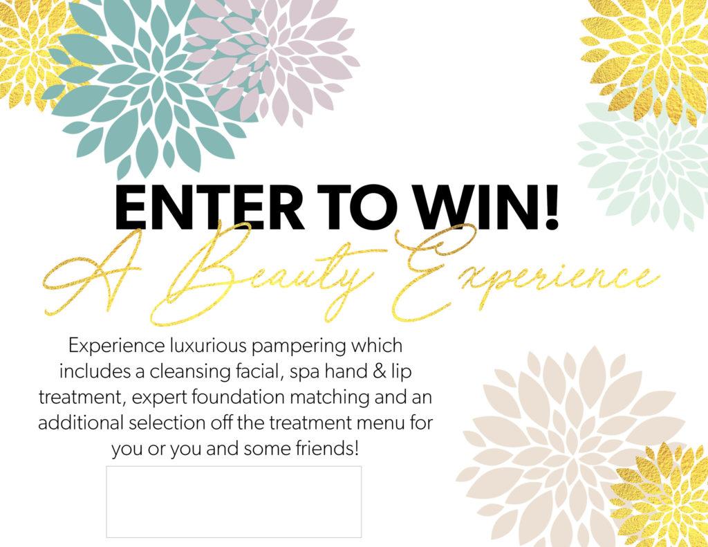 Beauty Experience Facial Box Sign
